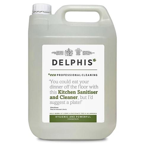 Delphis Eco Kitchen Sanitiser & Cleaner 5L refill