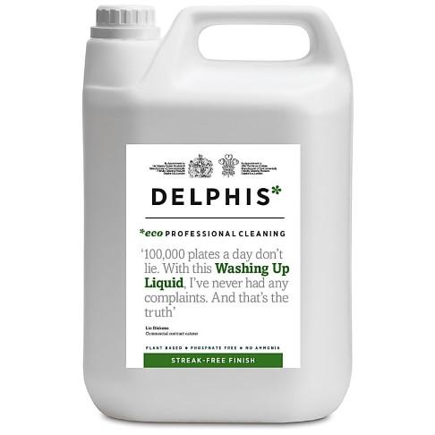 Delphis Eco Professional Washing Up Liquid 5L