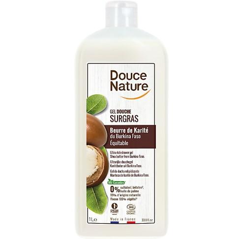 Douce Nature Shea Butter Nourishing Shower Cream - 1L