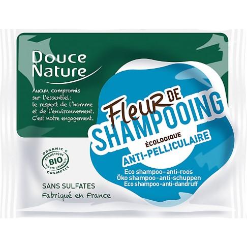 Douce Nature Flower Shampoo Bar - Anti-Dandruff