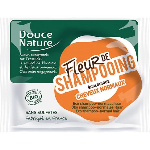 Douce Nature Flower Shampoo Bar - Normal Hair