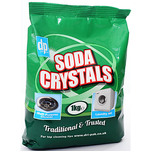 Soda Crystals To Unblock Kitchen Sink