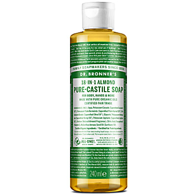 Dr. Bronner's Almond Castile Liquid Soap - 237ml