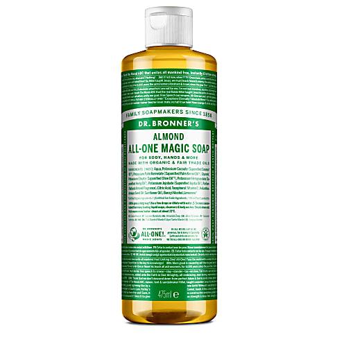 Dr. Bronner's Almond Castile Liquid Soap - 473ml