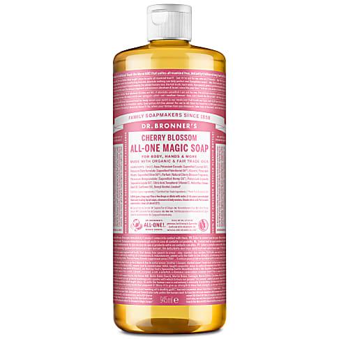 Dr. Bronner's Cherry Blossom Pure-Castile Liquid Soap - 945ml