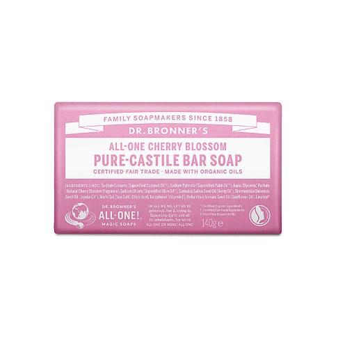 Dr. Bronner's Cherry Blossom Organic Soap Bar
