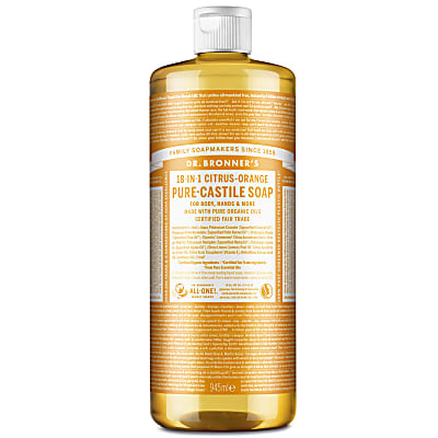 Dr. Bronner's Citrus Orange Castile Liquid Soap - 946ml