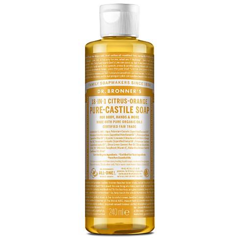 Dr. Bronner's Citrus Castile Liquid Soap - 237ml
