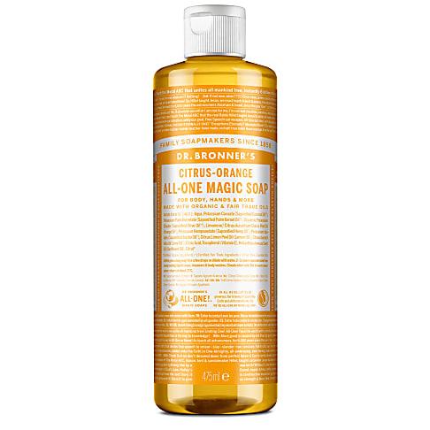 Dr. Bronner's Citrus Castile Liquid Soap - 473ml