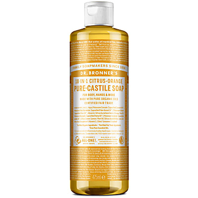 Dr. Bronner's Citrus Castile Liquid Soap - 473ml