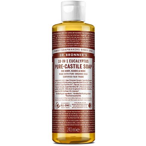 Dr. Bronner's Eucalyptus Castile Liquid Soap - 237ml