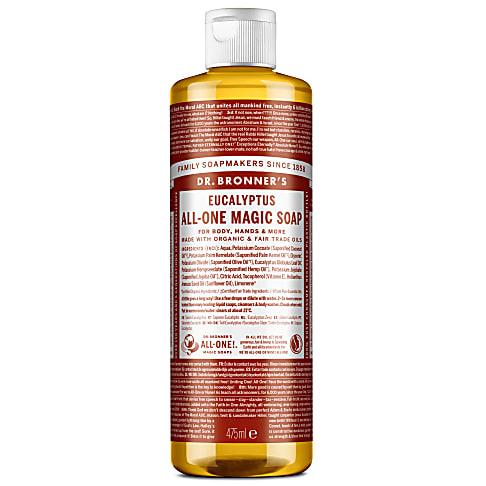 Dr. Bronner's Eucalyptus Castile Liquid Soap - 473ml