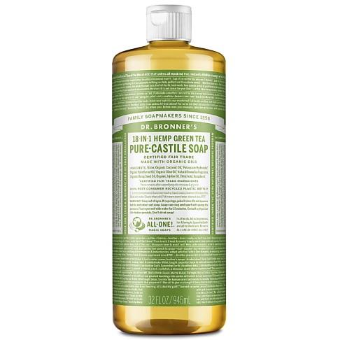 Dr. Bronner's Green Tea Castile Liquid Soap - 946ml