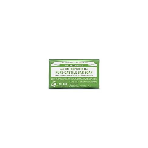 Dr. Bronner's Green Tea Organic Soap Bar