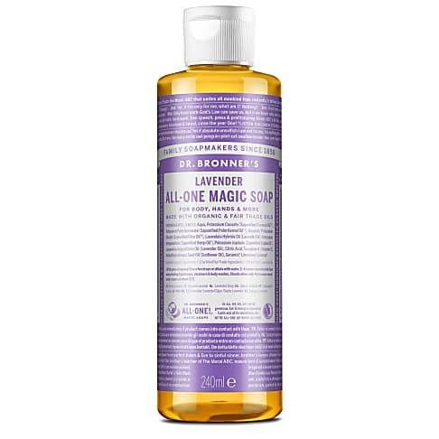 Dr. Bronner's Lavender Castile Liquid Soap - 237ml