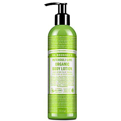 Dr. Bronner's Patchouli Lime Organic Hand & Body Lotion