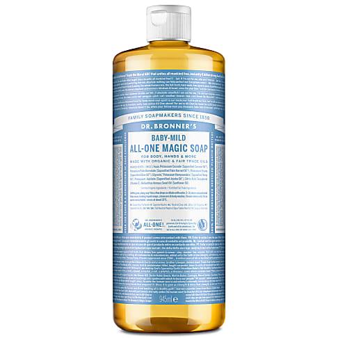 Dr. Bronner's Baby Unscented Castile Liquid Soap - 946ml