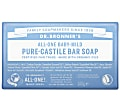 Dr. Bronner's Baby Mild Unscented Organic Soap Bar