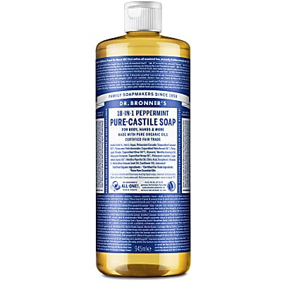 Dr. Bronner's Peppermint Castile Liquid Soap - 946ml