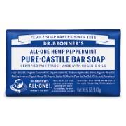 Dr. Bronner's Peppermint Organic Soap Bar sample