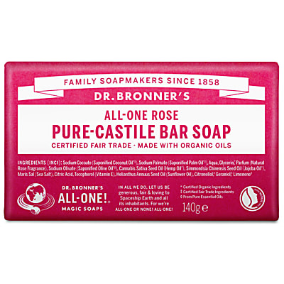 Dr. Bronner's Rose Organic Soap Bar