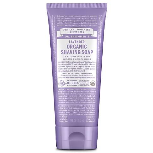 Dr. Bronner's Organic Lavender Shaving Soap