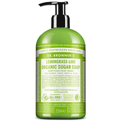 Dr. Bronner's Shikakai Liquid Soap Lemongrass - 355ml