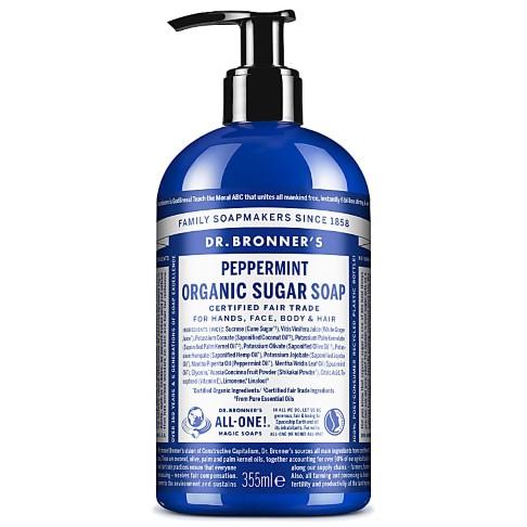 Dr. Bronner's Shikakai Liquid Soap Peppermint - 355ml