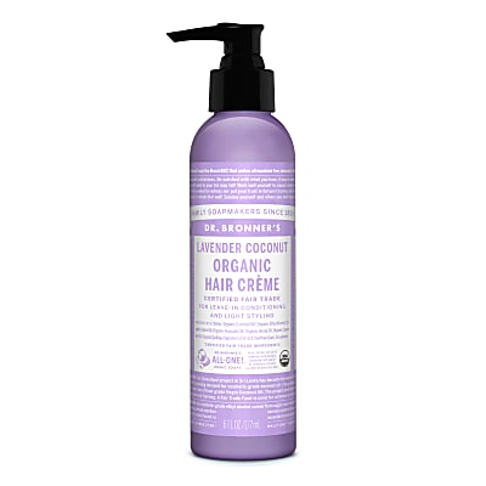 Dr. Bronner's Organic Style Cream Lavender