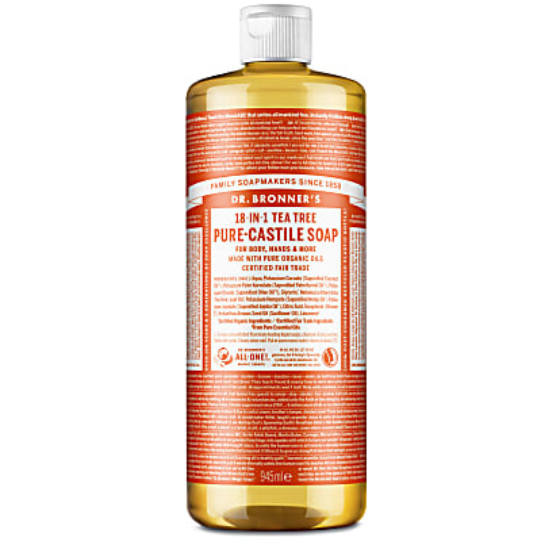 Dr. Bronner's Tea Tree Castile Liquid Soap - 946ml