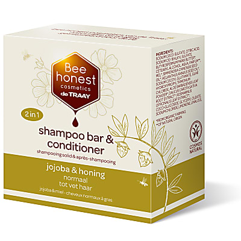 De Traay Bee Honest Shampoo & Conditioner Bar Jojoba & Honey