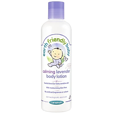 Earth Friendly Baby Body Lotion - Lavender