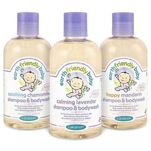 Earth Friendly Baby Shampoo & Bodywash