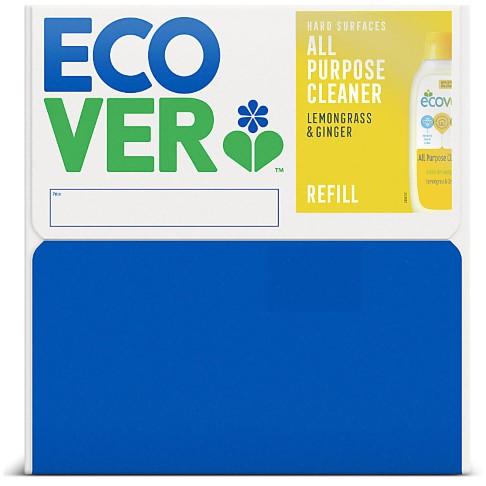 Ecover All Purpose Cleaner Lemongrass & Ginger Refill 15L - Bag in Box