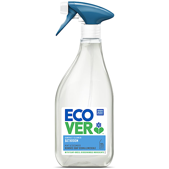 Green Bathroom Cleaners That Work: Ecover Bathroom Cleaner