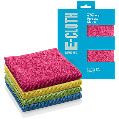 E-Cloth General Purpose E Cloth  - 4 Pack