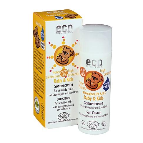 Eco Cosmetics Baby Sun Cream SPF45