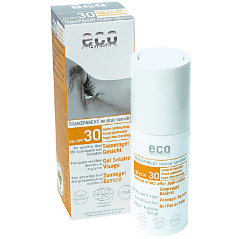 Eco Cosmetics Facial Sun Gel SPF30