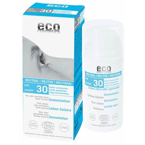 Eco Cosmetics Neutral Sun Lotion SPF30 - Fragrance Free