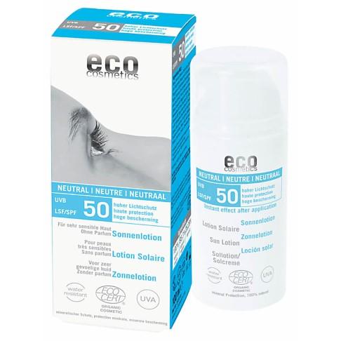 Eco Cosmetics Sun Lotion SPF50 - Fragrance Free