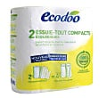 Ecodoo Recycled Compact Kitchen Rolls (2 pack)
