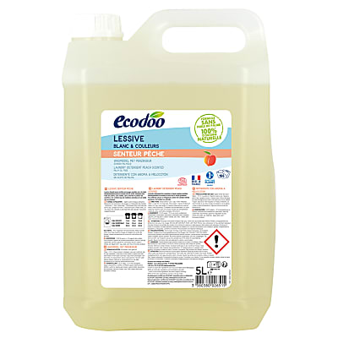 Ecodoo Peach Laundry Detergent - 5L