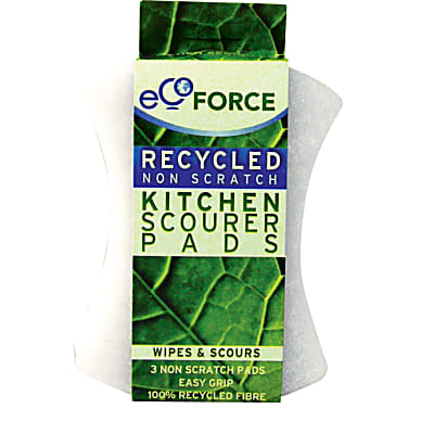 EcoForce Non-Scratch Scourer Pads