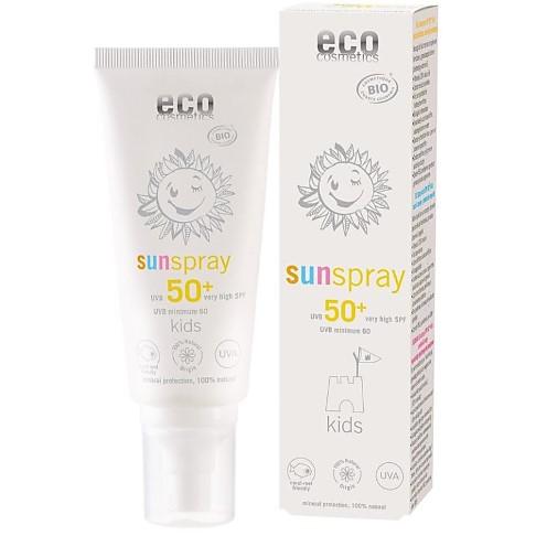 Eco Cosmetics Sunspray SPF 50+ Kids