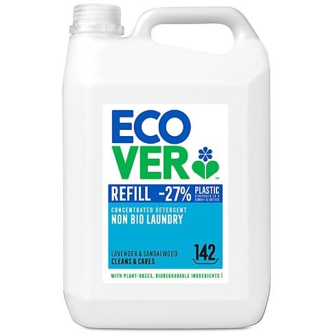 Ecover Concentrated Non Bio Laundry Liquid Refill 5L (142 washes)