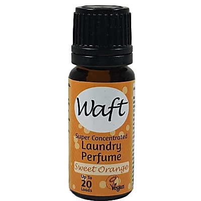 Waft Super Concentrated Laundry Perfume & Fabric Softener - Sweet Orange 10ml
