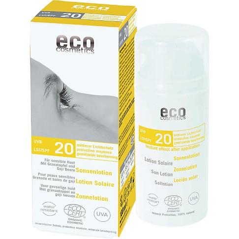 Eco Cosmetics Sun Lotion - SPF 20