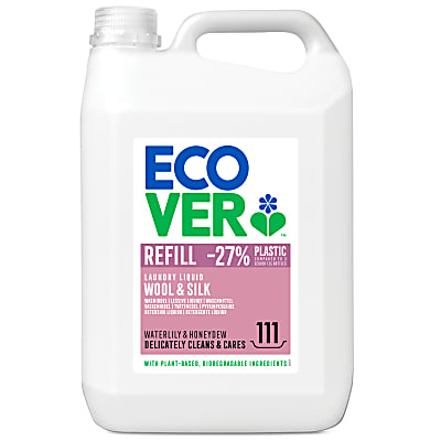 Ecover Wool & Silk Laundry Liquid Refill 5L (111 washes)