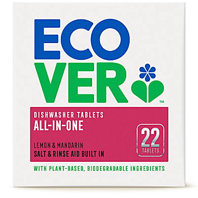 Ecover All In One Dishwasher Tablets (Box of 22)