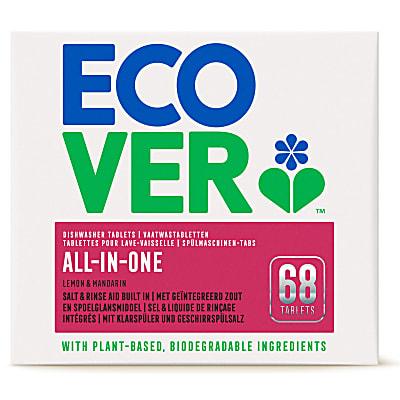 Ecover All In One Dishwasher Tablets - 68